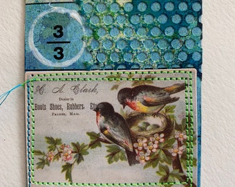 Beautiful Birds Art Card