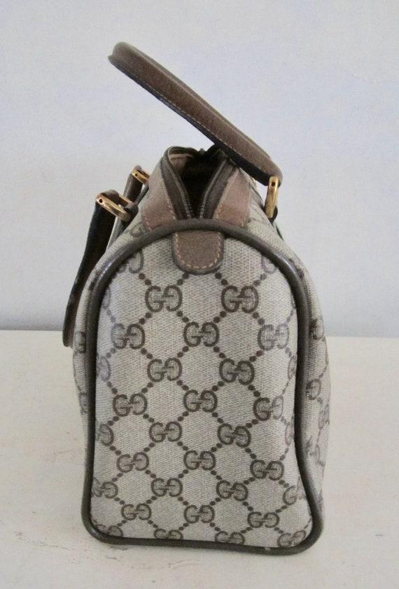 Vintage Authentic GUCCI Handbag w/ Gucci Dust Bag… - image 3