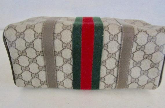 Vintage Authentic GUCCI Handbag w/ Gucci Dust Bag… - image 6