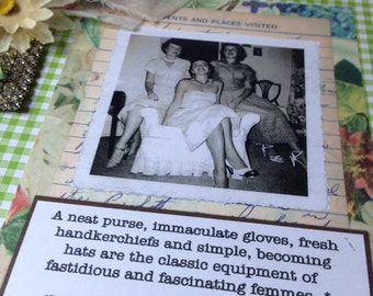 Fastidious and Fascinating Femmes Composition Book Journal