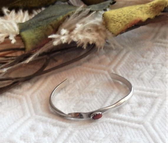 Vintage Baby Bracelet  Baby Native American Cuff Bracelet  Toddler Bracelet