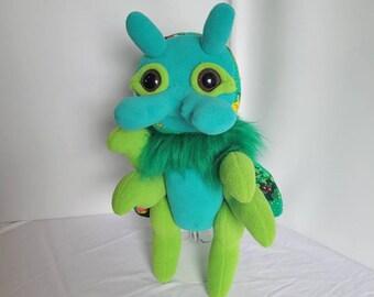 OOAK Cuddly Plush Animal Island Bug