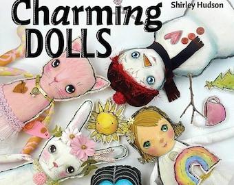 Charming Dolls book- by Shirley Hudson signed copy art vampire halloween bunny angel cat snowman