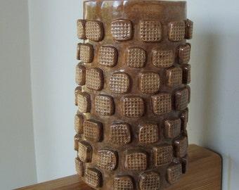OOAK Handmade Vintage Pottery Vase Container