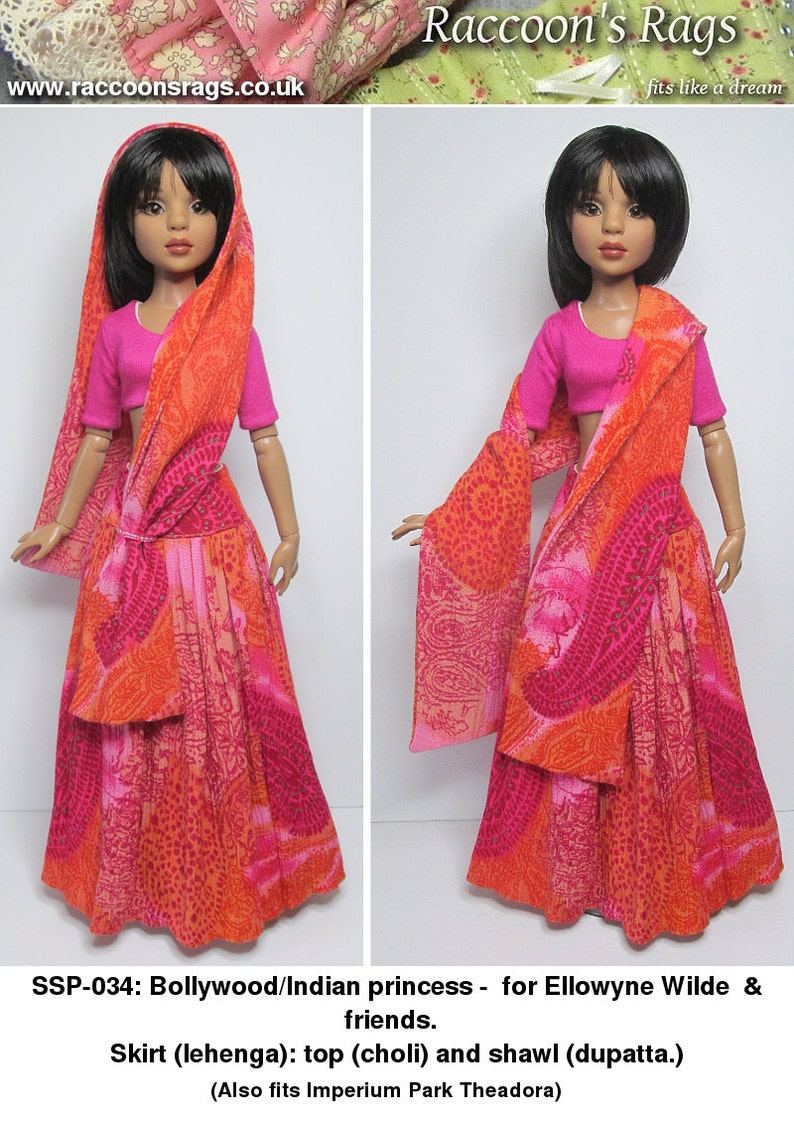STRAIGHTFORWARD SEWING Pattern SSP-034: Bollywood image 0