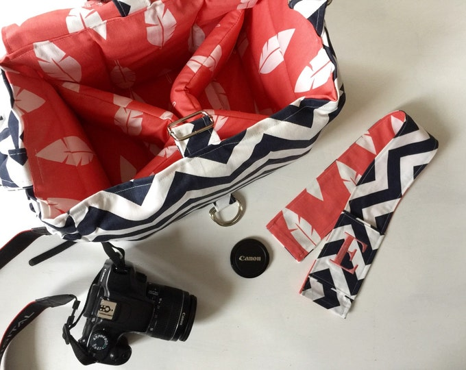 Ultimate Camera Bag with Coordinating Camera Strap Cover