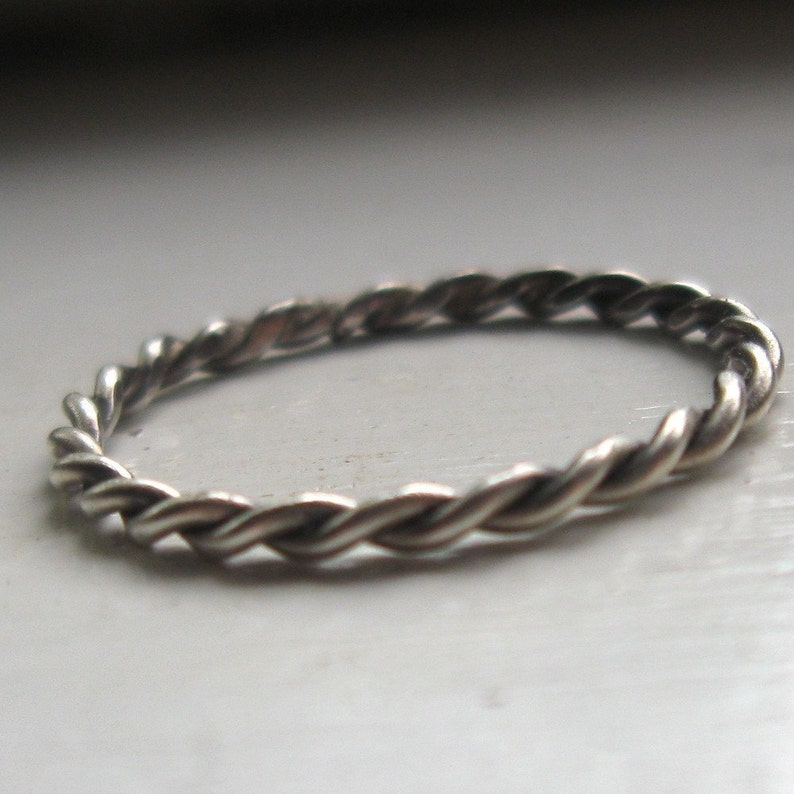 Twisted Stacking Ring image 0