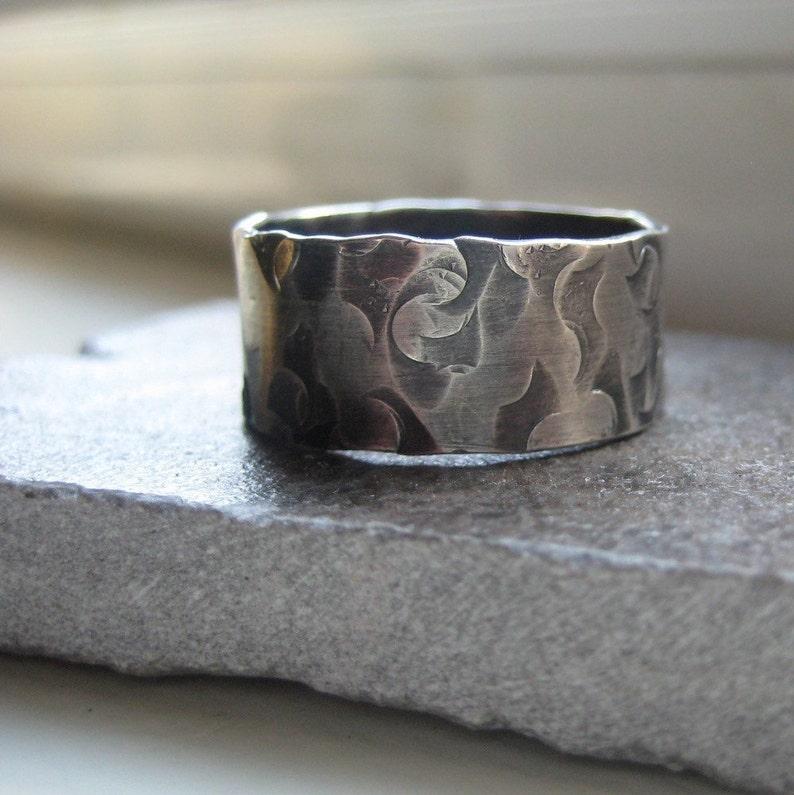 Mans Rustic Ring image 0