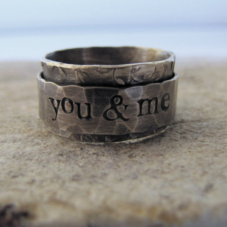 Personalized Spinner Ring image 0