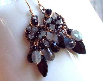 The Midnight Dance earrings