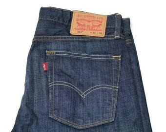 79dae59e2a548 80s vintage mens levis 513 denim blue jeans