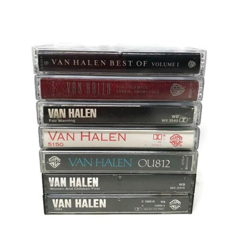 cassette tapes - van halen | 60s 70s 80s 90s music soundtrack oldies  greatest cassingle