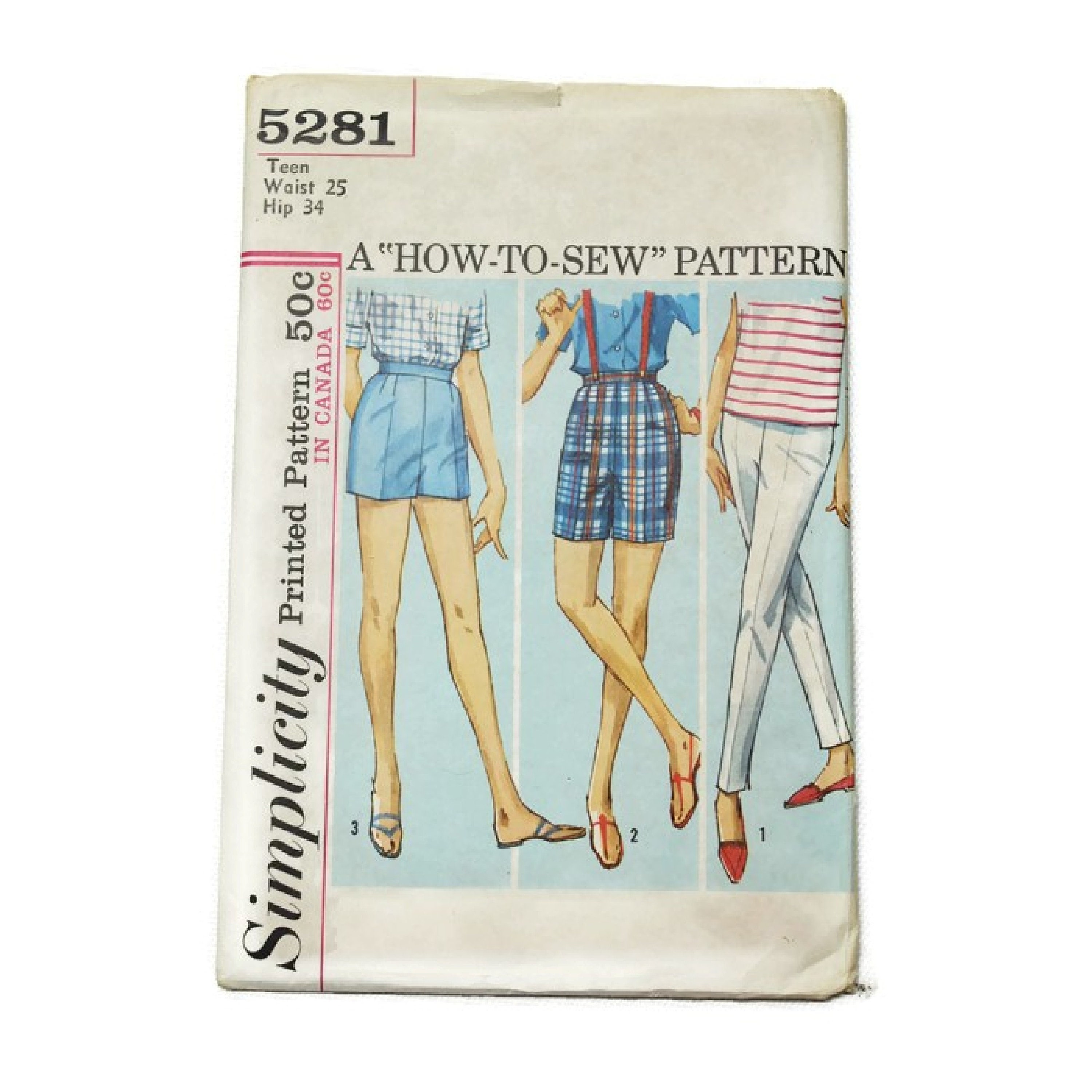 50s vintage simplicity sewing pattern | 5281