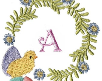 EASTER MONOGRAMS  Machine embroidery Designs