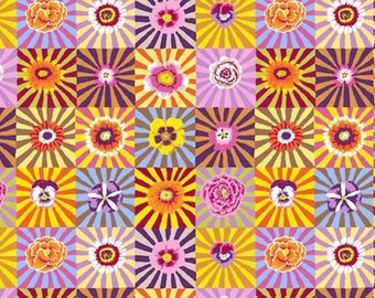7c2efa6cd7a6 ON SALE Kaffe Fassett PWGP162 Sunburst Bright Cotton Quilting Fabric By The  Yard
