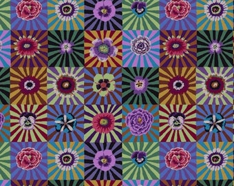 3db56598eaf4 ON SALE Kaffe Fassett PWGP162 Sunburst Dark Cotton Fabric By The Yard