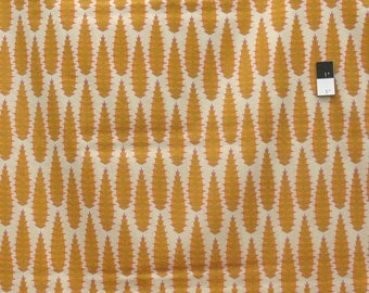 Anna Maria Horner VOAH029 Pretty Potent Aloe Vera Butterscotch VOILE Fabric By The Yd
