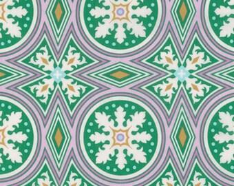 Joel Dewberry VOJD013 Modernist Tolson Plum Cotton VOILE Fabric By Yard