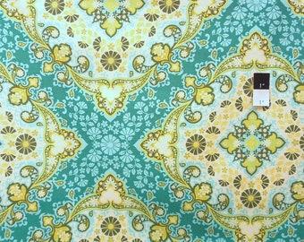 ON SALE Joel Dewberry PWJD065 Notting Hill Kaleidoscope Basil Cotton Fabric 1 Yard