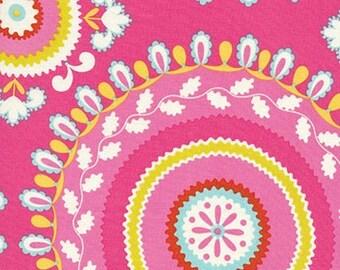 ON SALE Dena Designs DF92 Kumari Garden Jeevan Pink Cotton Fabric By Yard