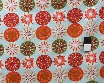 ON SALE Dena Designs DF99 Kumari Garden Sashi Ice Cotton Fabric 1 Yard