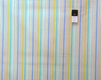 ON SALE Dena Designs DF103 Kumari Garden Holiday Tanaya Blue Cotton Fabric 1 Yard