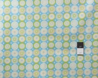 ON SALE Dena Designs DF94 Kumari Garden Lalit Blue Cotton Fabric 1 Yard