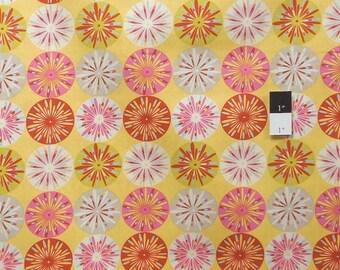 ON SALE Dena Designs DF99 Kumari Garden Sashi Pink Cotton Fabric 1 Yard