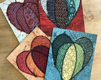 Hearts- Set of Eight Notecards