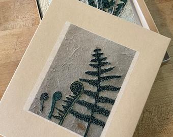 Botanical Notecards- Set of eight