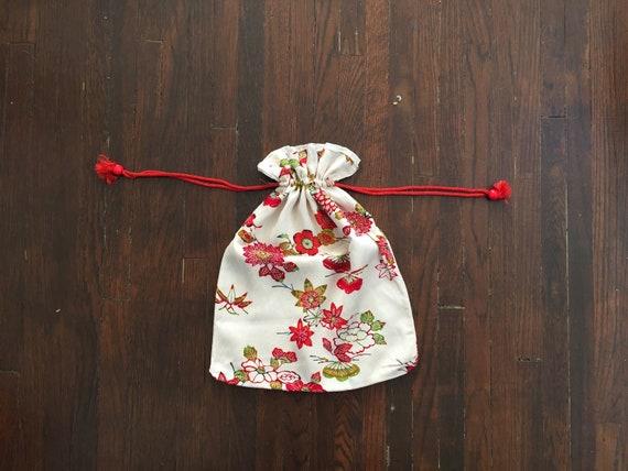 Vintage Silk Lingerie Bag
