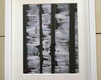 "Black Birch Tree 8""x10"" Art Print"