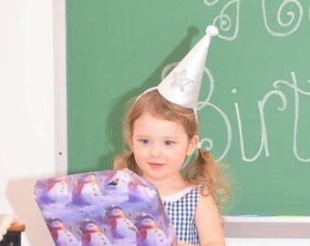 Mini Clown Hat, High Fashion, Birthday Party Hat, Halloween Costume, Vintage Clown, Burning Man, Circus Costume, Princess Costume, Fairy