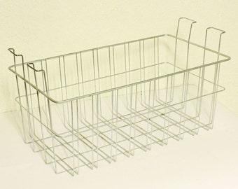Vintage wire basket - metal - storage - organize