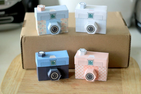 Items similar to Printable SPECIAL - - 4 TOUGHIE Cameras