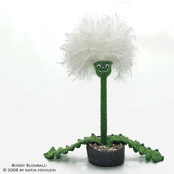 Buddy Blowball Pdf Häkelanleitung Pusteblume Blume Ebook Etsy