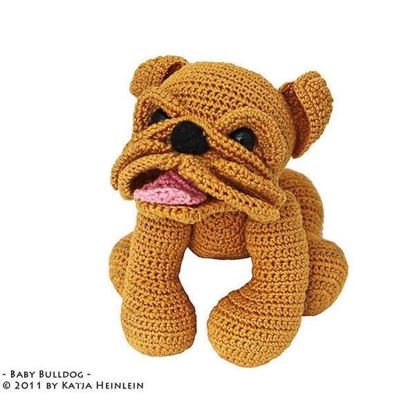 Baby Bulldog Pdf Häkelanleitung Englische Bulldogge Eb Oeb By Etsy