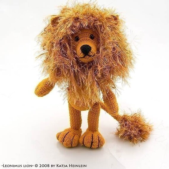 PDF Häkelanleitung Löwe safari pattern lion leo von Katja | Etsy