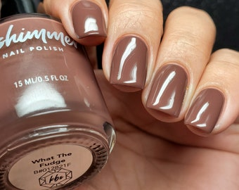 What The Fudge Nail Polish by KBShimmer