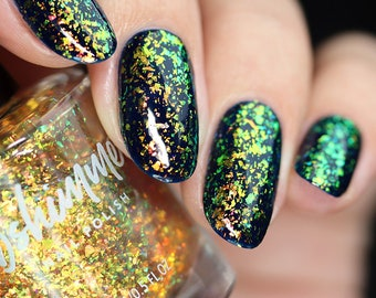 Sol Amazing Flakie Topper Nail Polish by KBShimmer