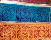TALAVERA Panels - papel picado for altars, ofrenda steps, table runners -  Ready made