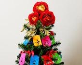 Christmas Tree papel picado garland - FIESTA designs