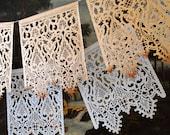 CORELLI - XL custom color papel picado banners- wedding garland