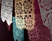 TALAVERA - fine papel picado banners for fiesta - custom colors