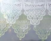 Wedding garland - VIVALDI custom color papel picado banners - sets of 2
