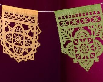 TALAVERA small papel picado banners - Ready Made