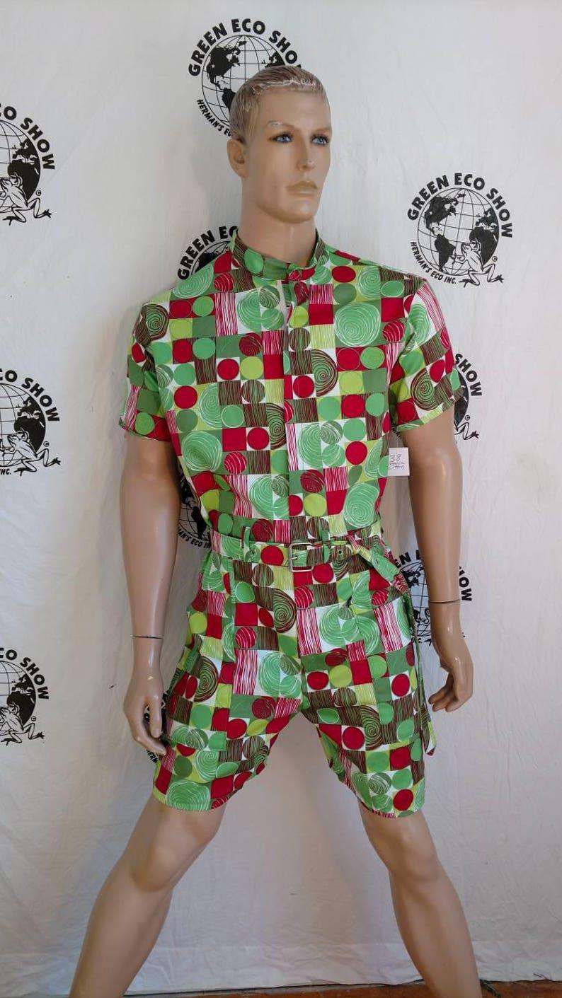 c18535a0b62 Mens Romper shorts 40 M-L Hermans Eco USA Organic Cotton