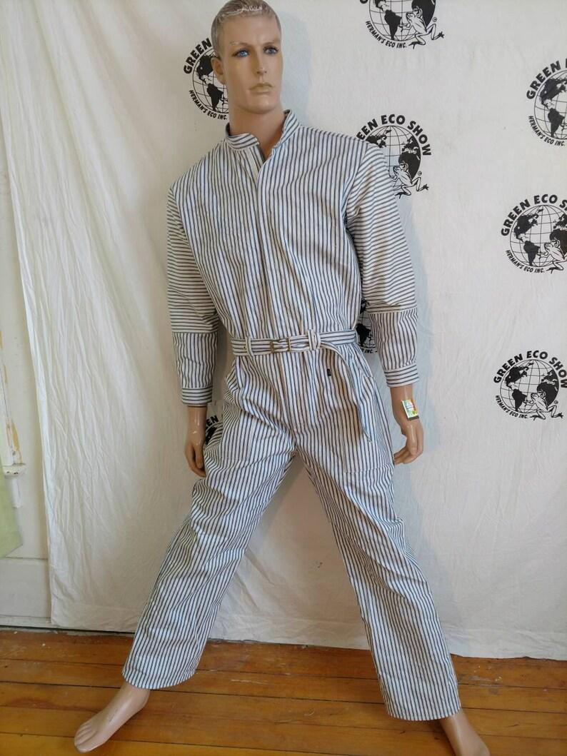 59581a9742e Jumpsuit Romper mens pants L X 30 by Herman ECO jumpsuit
