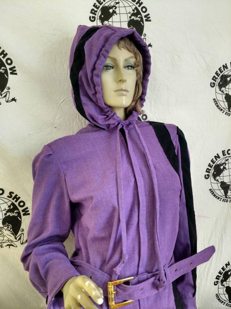 1b4b7b16f0c Womens Jumpsuit LX30 Hermans Eco purple black sewn on