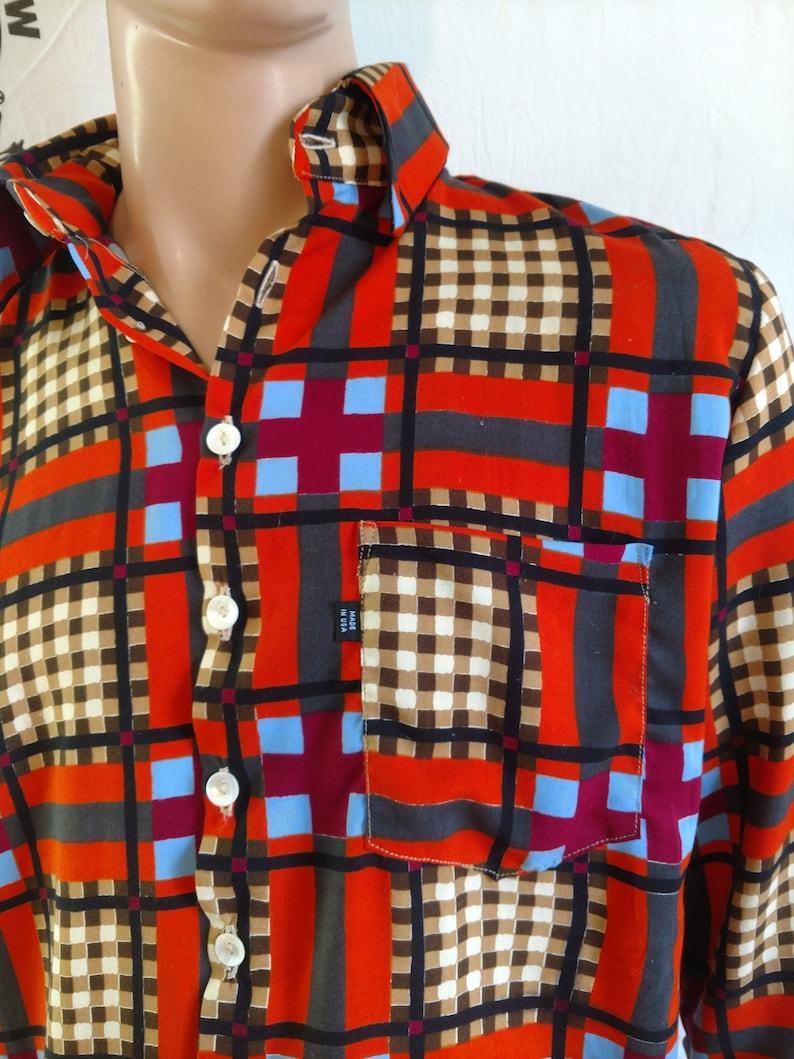 Shirt Hermans Eco Large shirt  USA  hipster 2 part collar